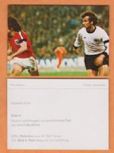 West Germany v England Rainer Bonhoff & Kevin Keegan 41